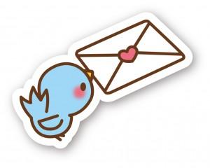 鳥_手紙と鳥