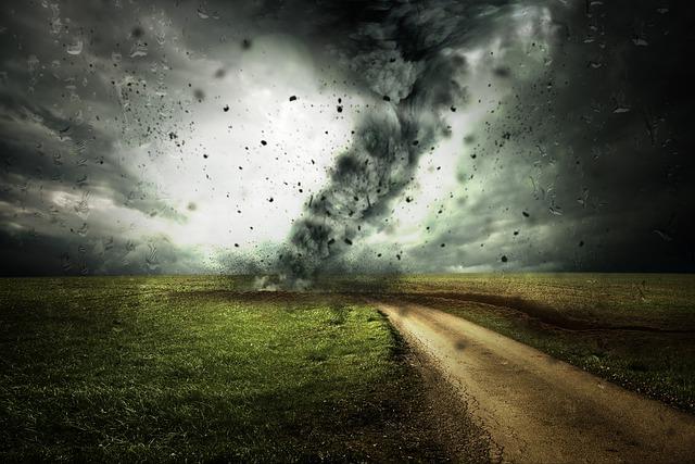 夢占い竜巻の夢の意味20選!劇的に環境が変わって幸運が?