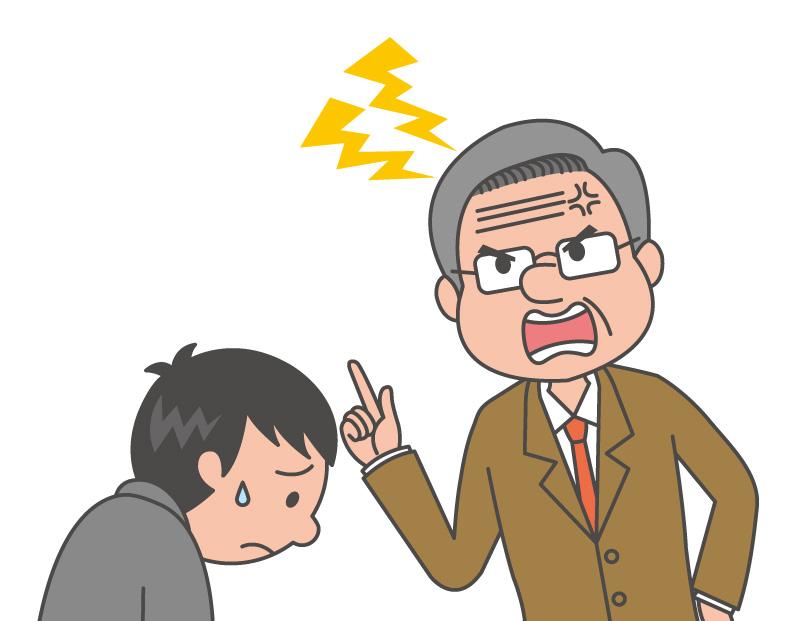 「先生 怒る」の画像検索結果